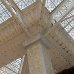 81. Wright's Most Significant Alterations to the Rookery Lobby.